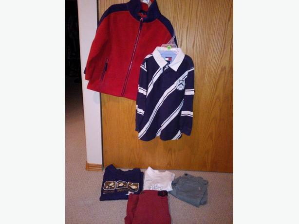 3 boys clothing items in size 4 for one price
