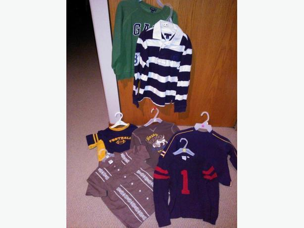 7 boys clothing items in size 5 for one price
