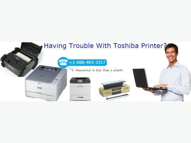 Toshiba Printer Technical Support Number +1-888-483-3317
