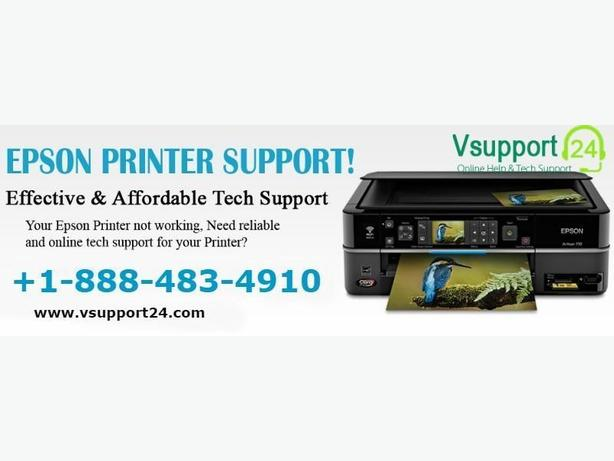 Contact +1-888-483-4910 for Epson Tech Support Services