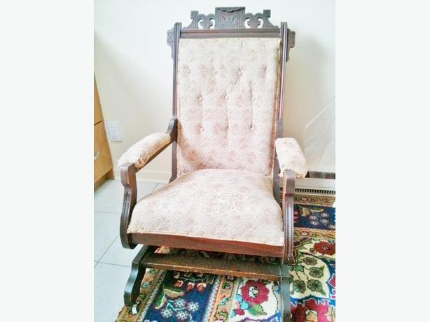 Antique 1910's Eastlake Rocking Chair