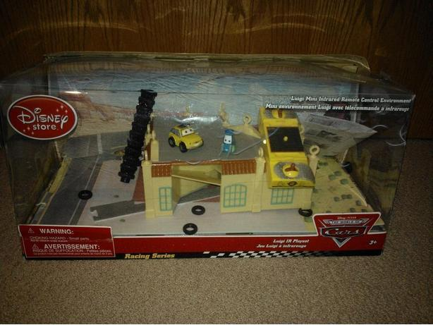 Disney Store Cars Luigi Jr Play Set