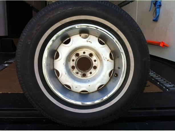 1970 ish Dodge rally wheel