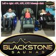 Infrared saunas, massage chair, on sale!