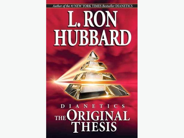 SELF-HELP BOOK!! DIANETICS: THE ORIGINAL THESIS