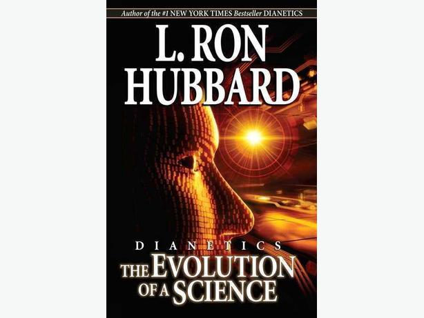 SELF-HELP BOOK!! DIANETICS: THE EVOLUTION OF A SCIENCE