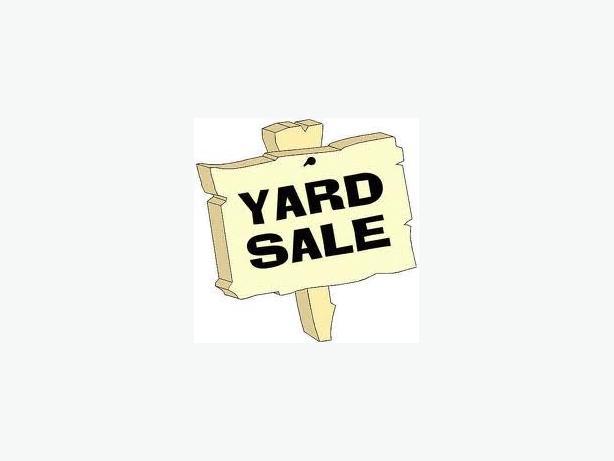 Yard Sale May 27