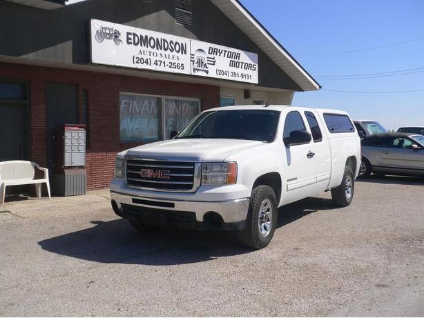 2013 GMC Sierra 1500 Extended Cab  2 WD with or without cap