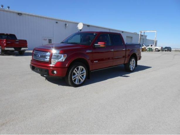 2013 Ford F150 SuperCrew Limited * Red Leather * T5159A
