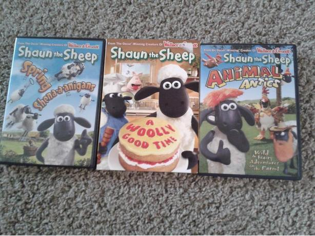 3 Shaun the Sheep D.V.DS