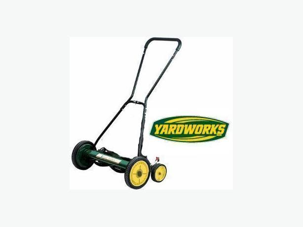 Reel Mower ~ YardWorks 20""