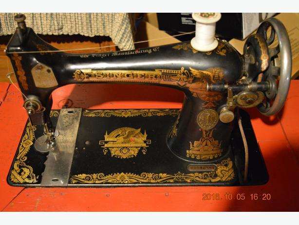 Antique Singer Sewing Machine