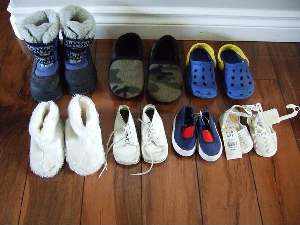 Assorted Baby / Children's Footwear Lot (all for $5)