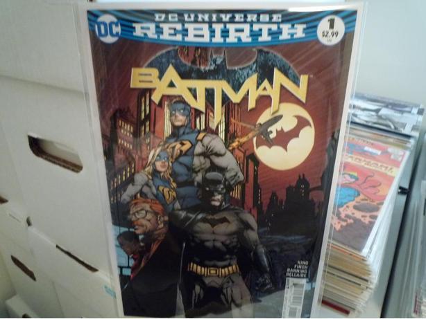 Batman Vol.3 #1 (Rebirth) Never Read