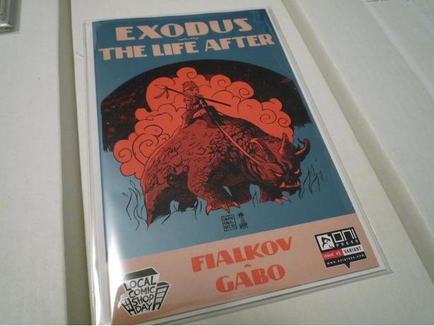 LCSD Variant of Exodus The Life After (Oni Press)