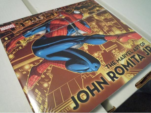 The Marvel Art of John Romita Jr. Hardcover