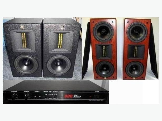 Speakers SLS Studio monitors