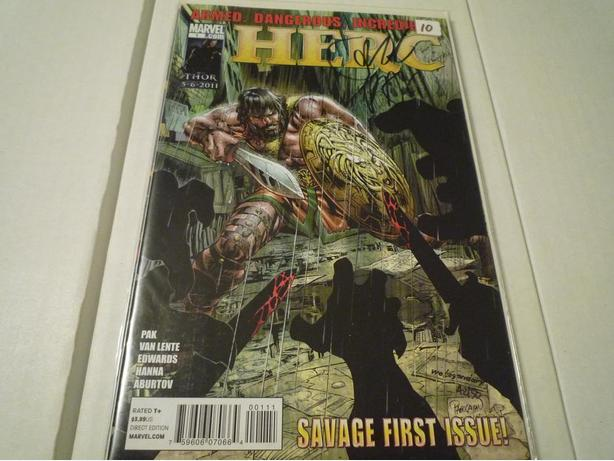 Herc #1 Dynamic Forces Signed Edition w/COA