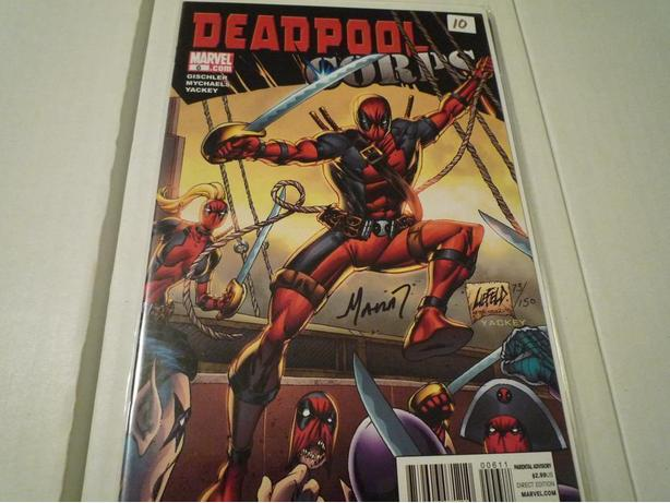 Deadpool Corps #6 Dynamic Forces Signed Edition w/COA