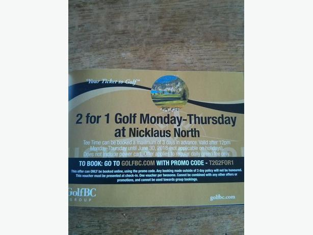 NICKLAUS NORTH GOLF 2 FOR 1 COPUONS!!!