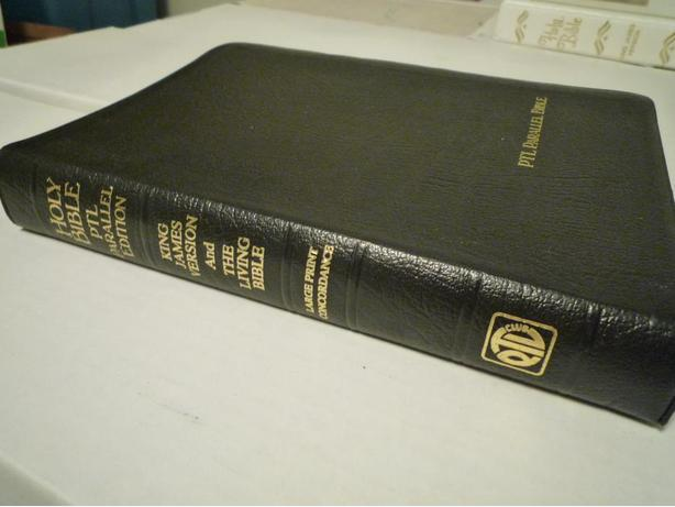 Genuine Leather PTL Parallel Holy Bible