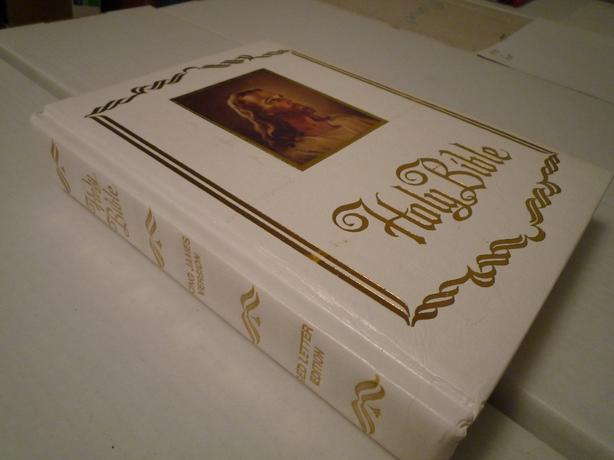 Large King James Family Holy Bible