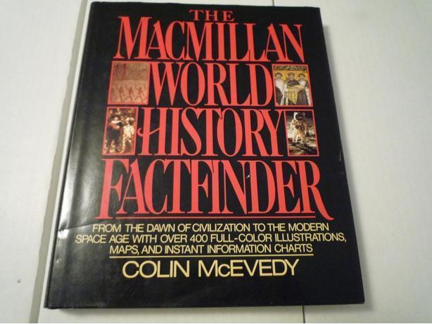 MacMillan World History Factfinder Hardcover