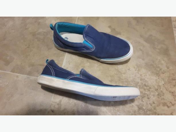 Blue Gap Slip on Shoe