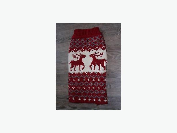 dog  sweater thick wool