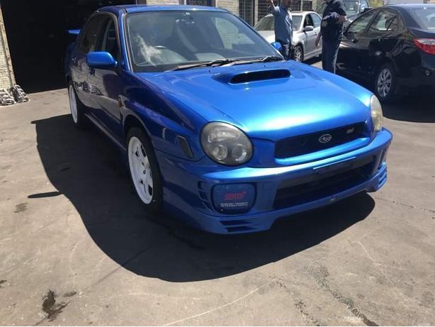 Subaru WRX STI bugeye JDM