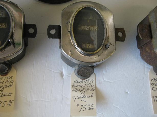 1928-1930 Ford  Model A Speedometers