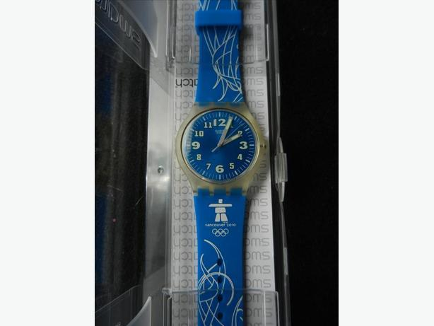 Vancouver 2010 Olympic Collectable Swatch Watch - Reduced