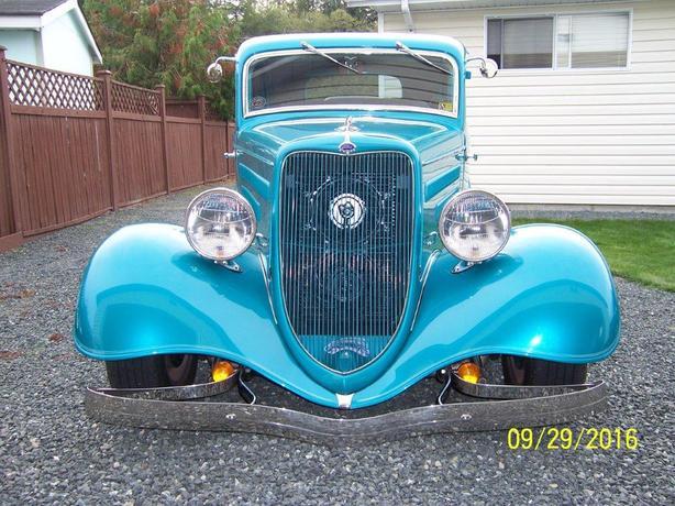 1934 Ford Model 40 Tudor Hot Rod
