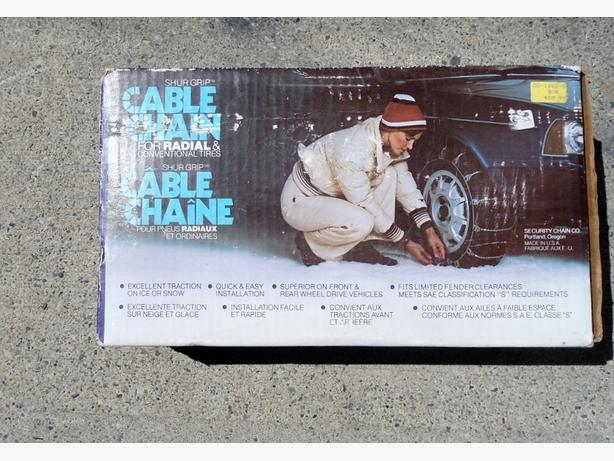 SHUR GRIP CABLE CHAINS