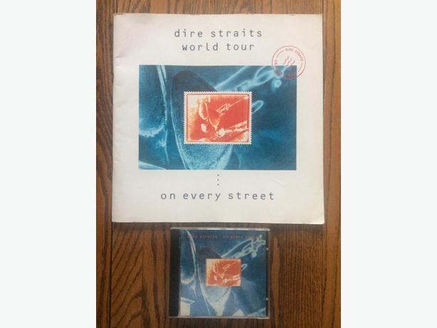 Dire Straits 'On Every Street' CD and Tour Book