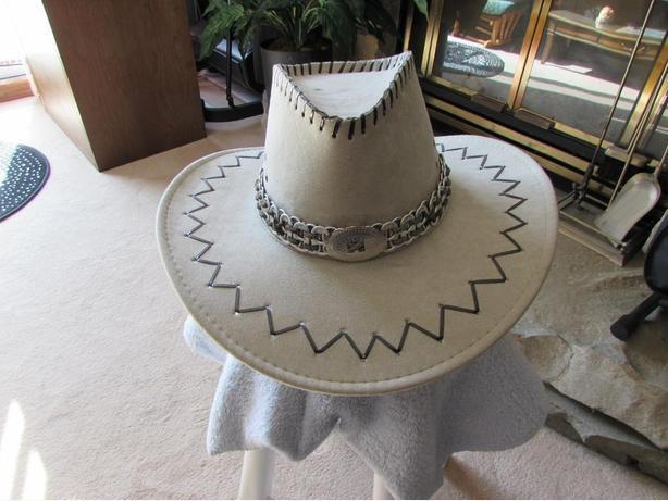never worn cowboy hat
