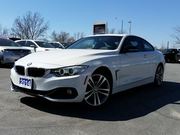 2014 BMW 4 Series 428i xDrive-SPORT COUPE-AWD-NAVIGATION-44,476 KMS