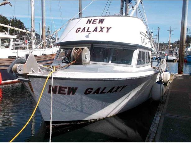 Commercial Fishing Alaska - Roberts Combination Vessel - New Galaxy