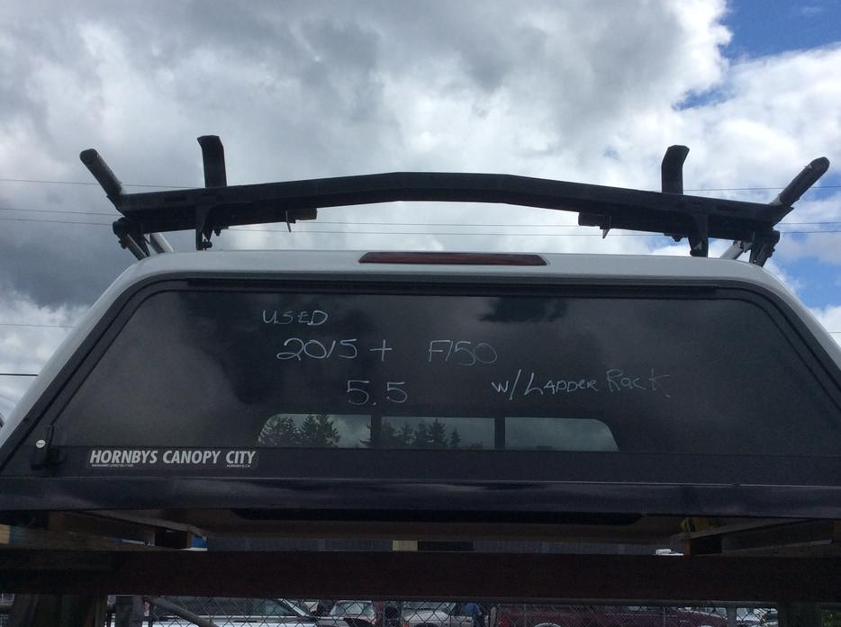 Canopy 2015 Ford F150 55 FT Box Ladder Rack Central Nanaimo