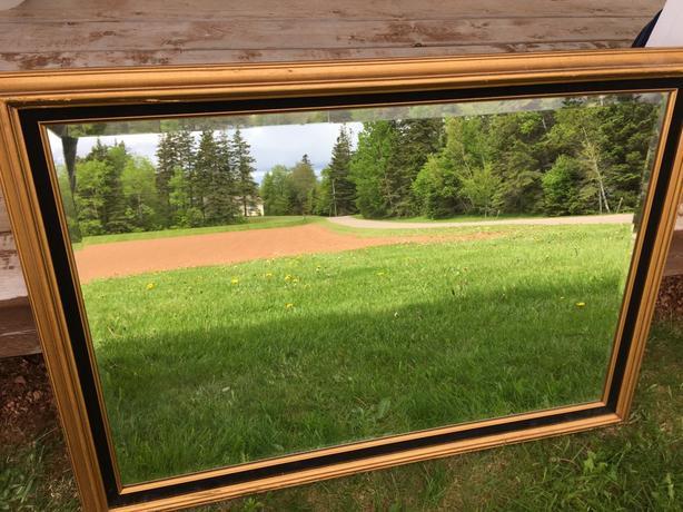 """Mirror framed - 29 x 41"""""""