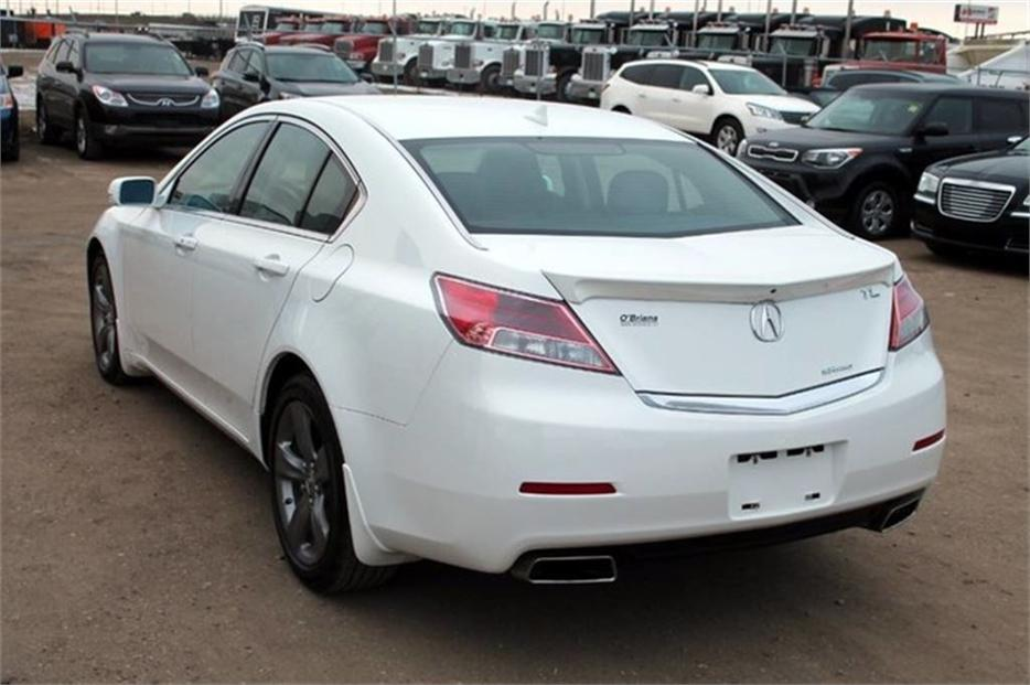 2014 Acura Tl Tech Pkg W Awd Nav Leather Outside South