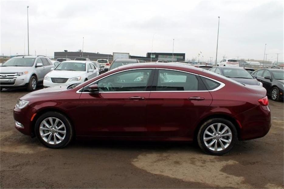 2015 Chrysler 200 C Accident Free W Mfg Warranty Leather Outside South Saskatchewan Regina