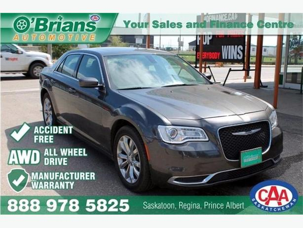 2016 Chrysler 300 Touring - Accident Free! w/Mfg Warranty, AWD