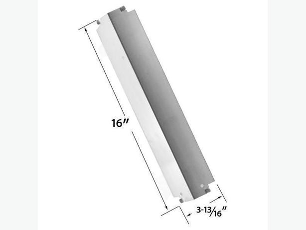 Stainless Steel Bbq Heat Shield For Charbroil, Thermos, Kenmore Models