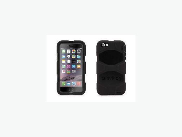 Griffin Black/Black Survivor All-Terrain Case + iPhone 6 & 6S