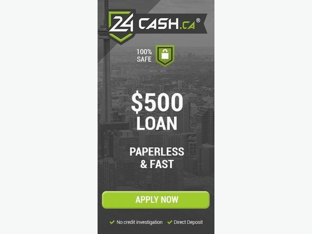 24 cash / Fast Online Loan
