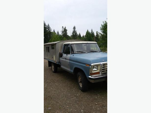 1979 Ford F-150 and Custom camper