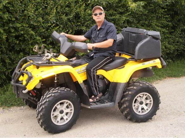 2009 can am outlander 400 XT EFI