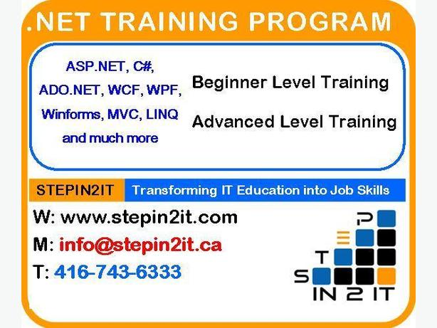 Net Technology Training Toronto & Placement