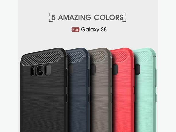 New S8 Galaxy Carbon Fiber Texture Cases